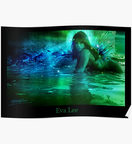 Water Nymph Poster
