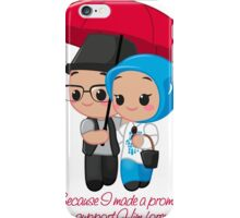 Support Him forever iPhone Case/Skin