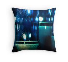 Lights of Our Lady Throw Pillow