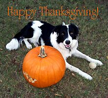 Happy Thanksgiving! by Glenna Walker
