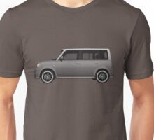Vectored Boxcar Silver Unisex T-Shirt