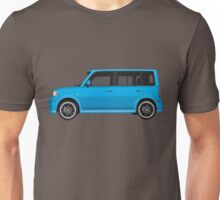 Vectored Boxcar Blue Unisex T-Shirt