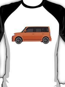 Vectored Boxcar Orange T-Shirt