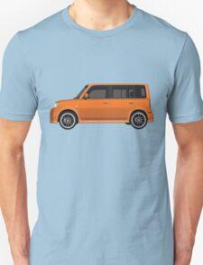 Vectored Boxcar Orange Unisex T-Shirt