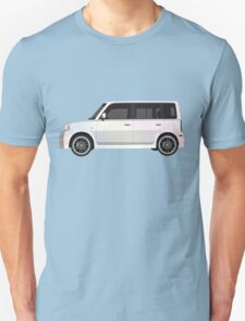 Vectored Boxcar Pearl Unisex T-Shirt