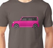 Vectored Boxcar Pink Unisex T-Shirt