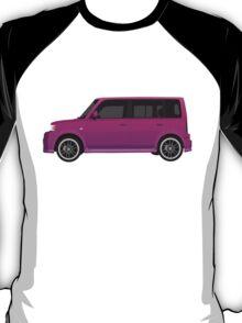 Vectored Boxcar Purple T-Shirt