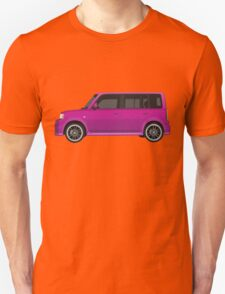 Vectored Boxcar Purple T-Shirt