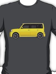 Vectored Boxcar Yellow T-Shirt