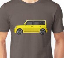 Vectored Boxcar Yellow Unisex T-Shirt