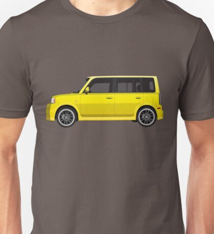 Vectored Boxcar Yellow Unisex T-Shirt