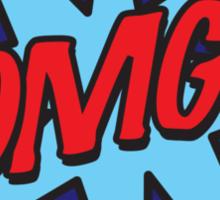 Comic Book OMG! Sticker