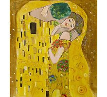 My Klimt Kiss Photographic Print