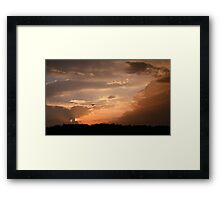 Flying Home Framed Print