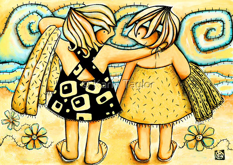 Best of Friends by © Karin (Cassidy) Taylor