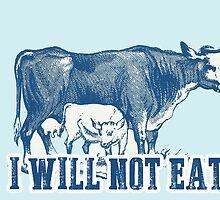 I will not eat a cow by Prussia