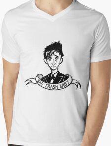 Trash Bird Mens V-Neck T-Shirt