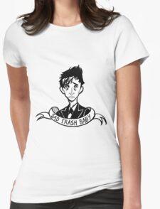 Trash Bird Womens Fitted T-Shirt