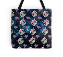 Girls in Space Tote Bag