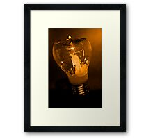 Energy Saver Framed Print