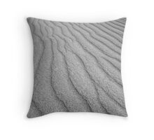 The lines of Little Sahara Throw Pillow