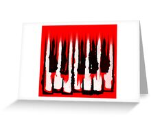 Monochromatic Scale Greeting Card