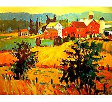 AMISH FARMS Photographic Print