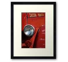Goin' to Indian Mountain Framed Print
