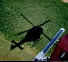 Helicopter shadow by svst