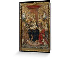 Benabarre, Pedro Garcia de - 1470, 211,8 x 147,5 cm Greeting Card
