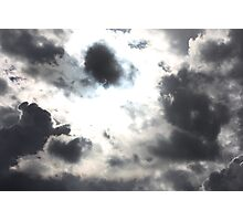 Rain Clouds in the Sky Photographic Print