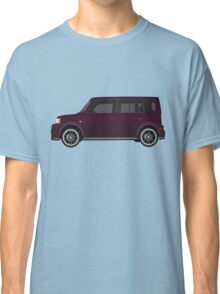 Vectored Boxcar Black Cherry Classic T-Shirt