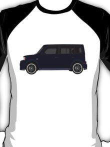 Vectored Boxcar Dark Blue T-Shirt