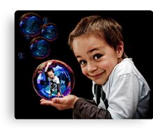 Bubble Boy Canvas Print