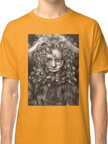 girl, invisible monsters Palahniuk, horror, face, dark, eyes Classic T-Shirt