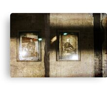 Mr & Mrs Someone a.k.a. clever eternity Canvas Print