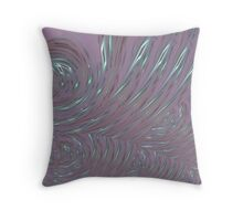 Spun Glass Throw Pillow