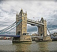 Tower Bridge - London by Marilyn Harris