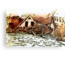 Johnstown Flood, Cambria County, Pennsylvania 1889 - all products Metal Print
