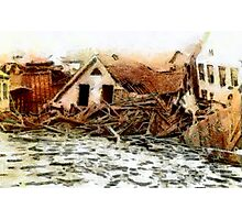 Johnstown Flood, Cambria County, Pennsylvania 1889 - all products Photographic Print