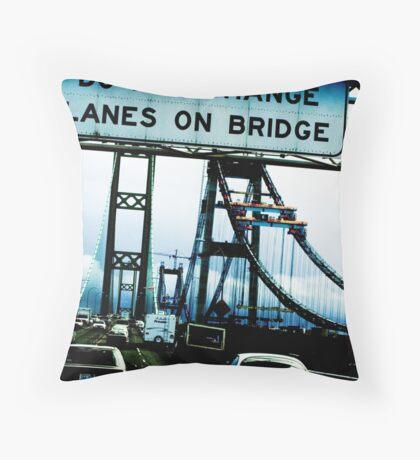 Changing Lanes Throw Pillow