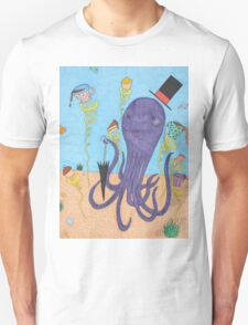 Octopus Tea Party Unisex T-Shirt