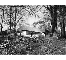 Bunratty thatched cottage Photographic Print