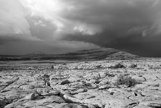Burren thunderstorm by John Quinn