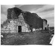 Nouvghal church ruins Poster