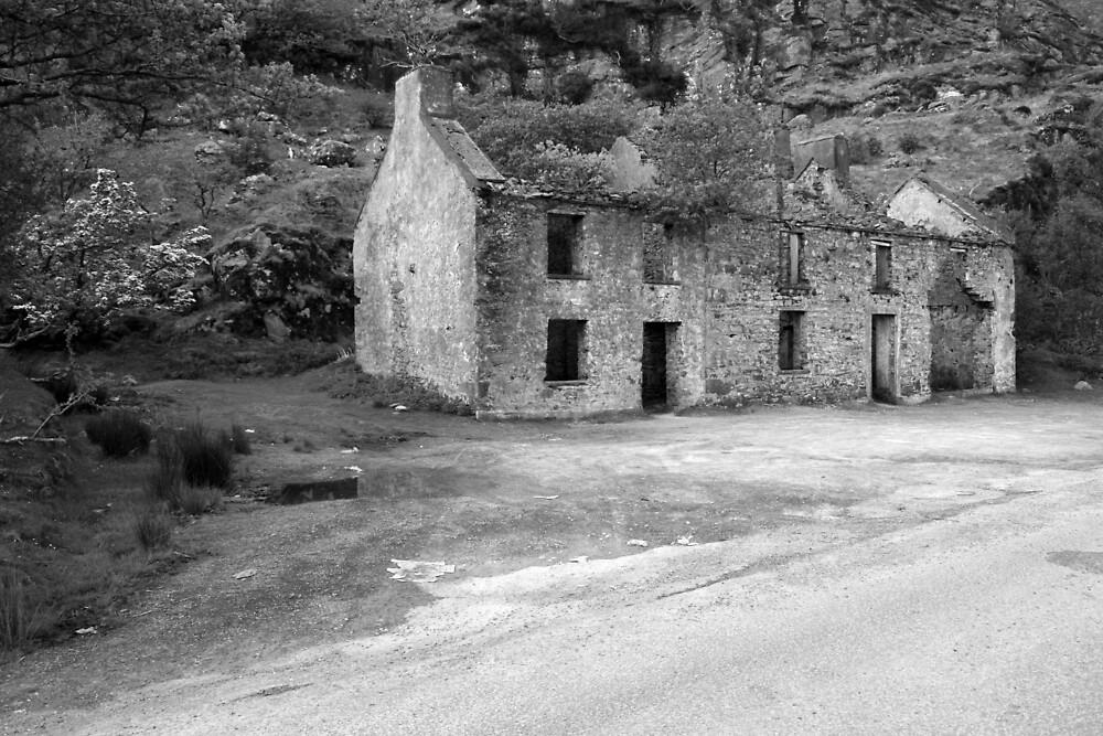 Gap of Dunloe ruins by John Quinn