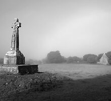 Dysert Celtic cross by John Quinn