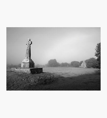 Dysert Celtic cross Photographic Print