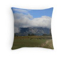 Mt Roland Throw Pillow