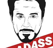 Badass by Julien Missaire